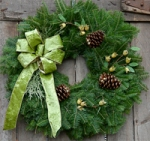 Wintergreen Wreath $36.00